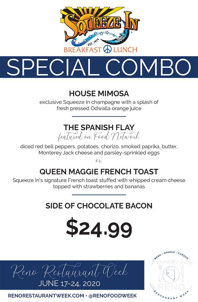 Squeeze In menu