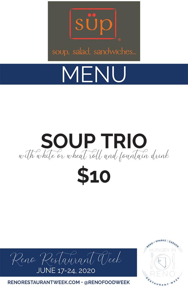 Sup menu