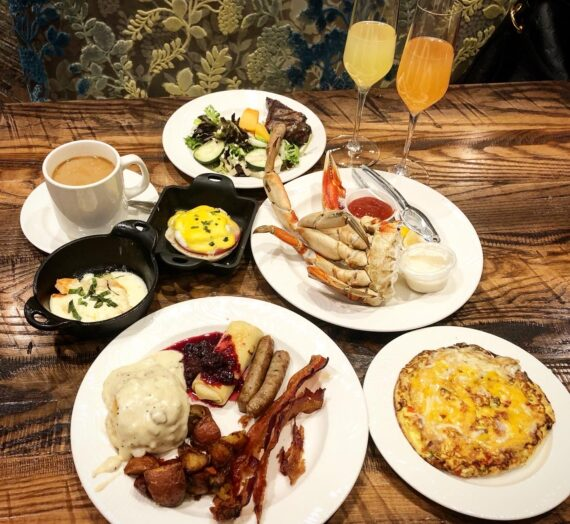 Raise a glass to Champagne Brunch at The Grand Buffet at Grand Sierra Resort and Casino