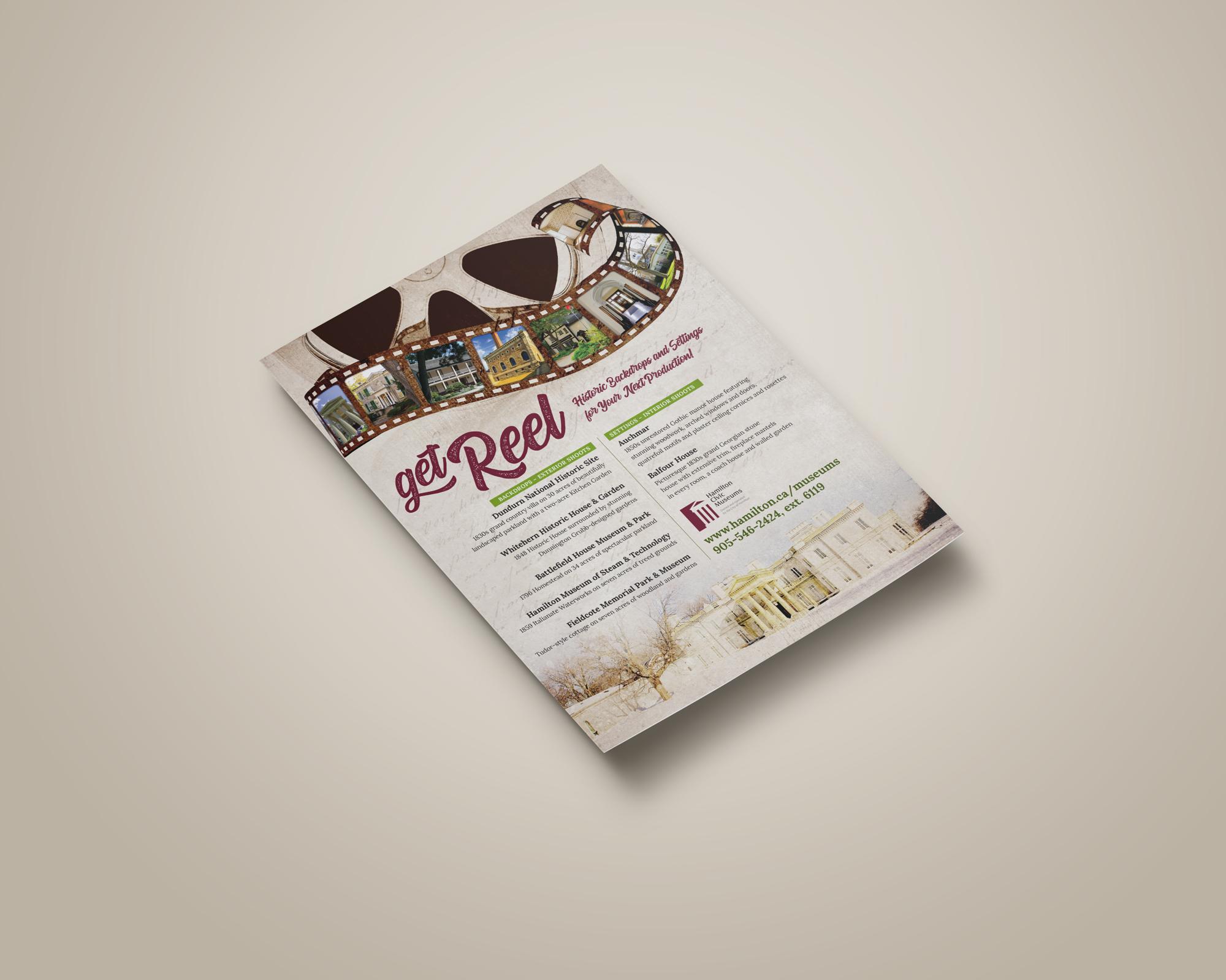 Get Reel Poster Design