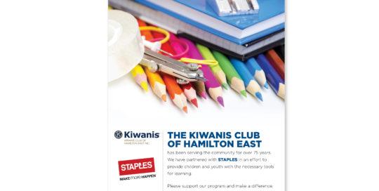 Kiwanis Club Poster