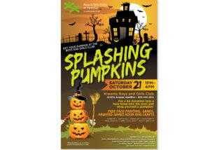 Kiwanis Club Halloween Poster