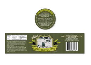 Salvatore's Food Label