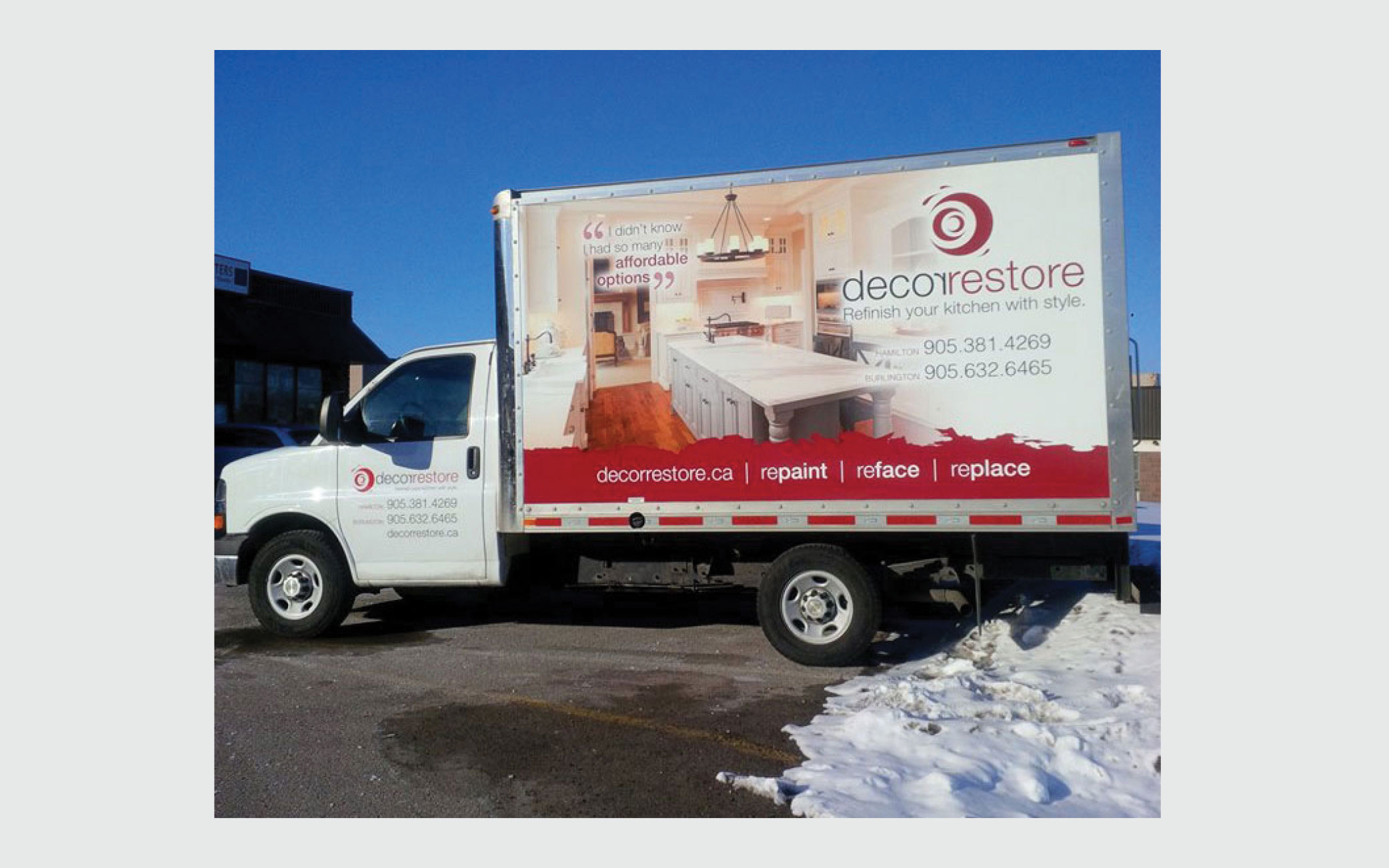 Box Truck Wrap and Install