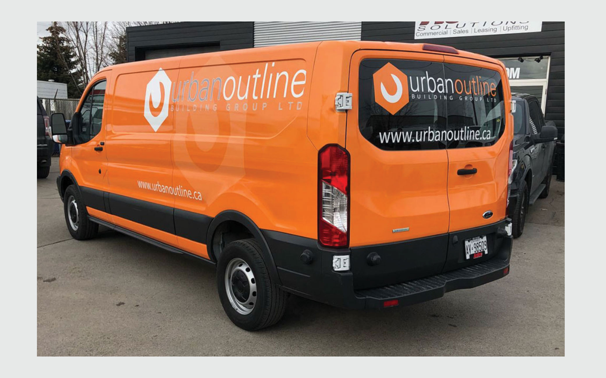 Full Vehicle Wrap, Design and Install