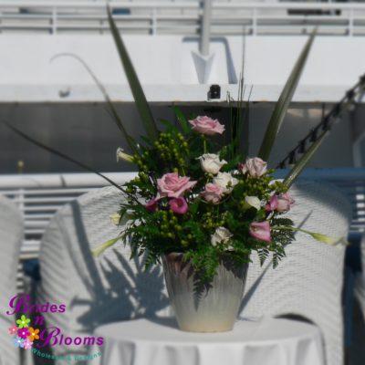 Rose & Mini Calla Planter