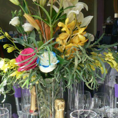 Floral Decor for Bar area