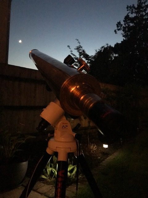 Clarkson refractor telescope