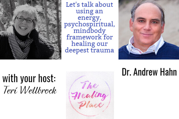 The Healing Place Podcast: Dr. Andrew Hahn – Using an Energy, Psychospiritual, Mind-Body Framework for Healing Our Deepest Trauma