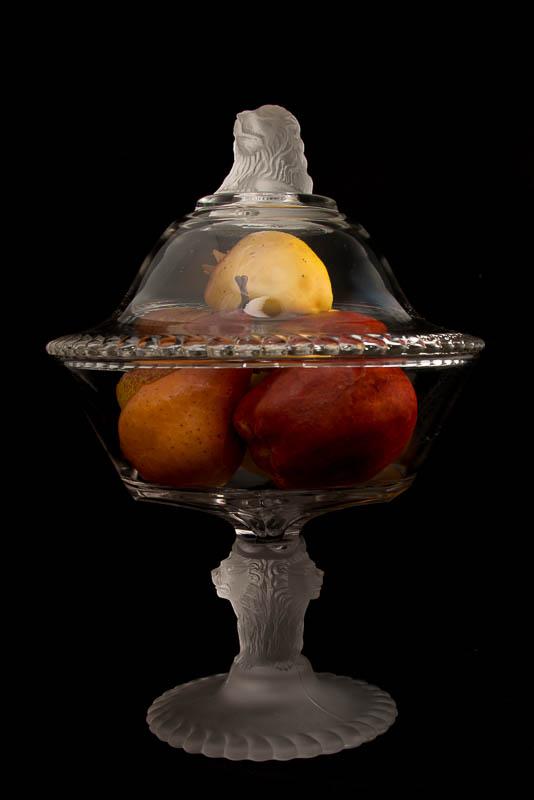 Lionware Fruit Compote Dish (c.1858)