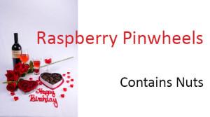 Valentines food identification card