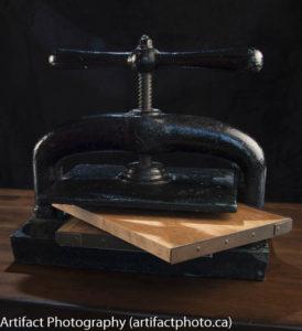 Book press and edge boards