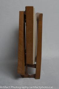 Folded for storage - left side