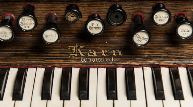 Karn reed organ circa 1891