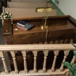 Karn reed organ, rear