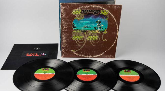 Record album covers