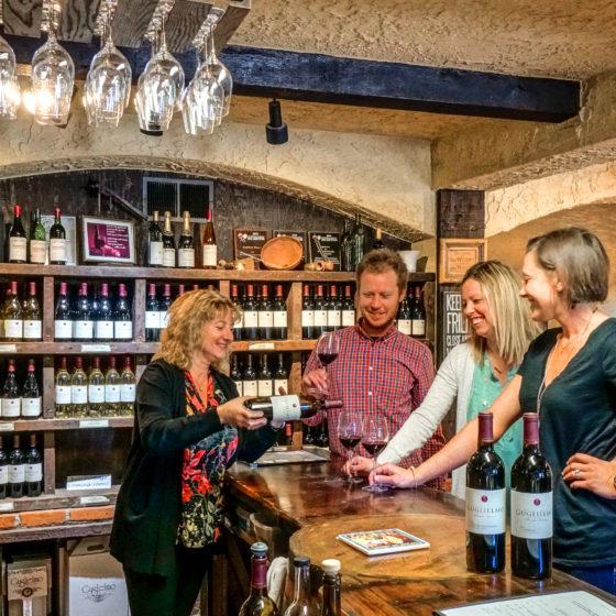 Guglielmo Wine Tasting Room