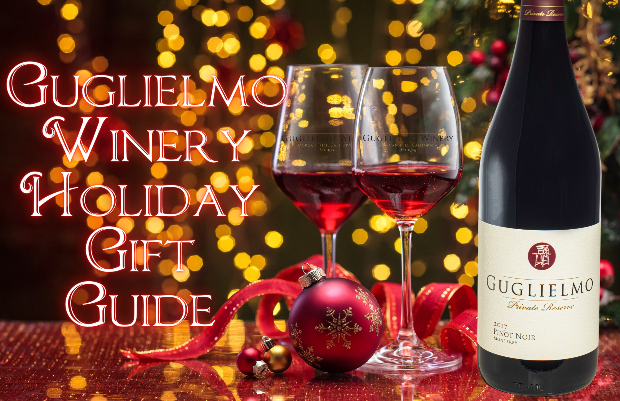Guglielmo Winery Holiday Gift Guide