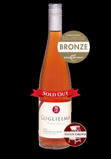 Private Reserve Estate Grown Grignolino Rose Bronze Award San Francisco Wine Competition