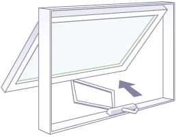 Adera offers hinged awning window to Kelowna, Vernon, and Okanagan homeowners, builders, and strata