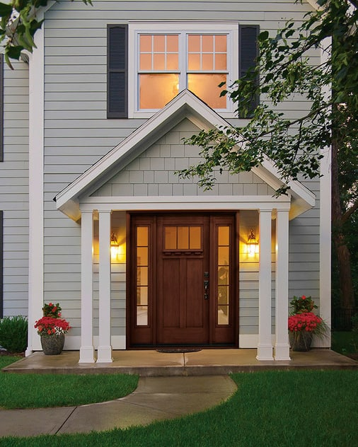 Increase your Kelowna home's value with a craftsman front entry door