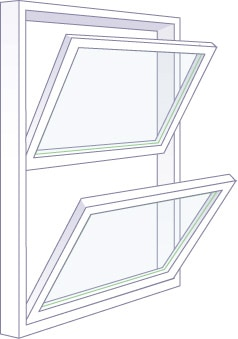 Adera offers double hung windows to Kelowna, Vernon, and Okanagan homeowners, builders, and strata