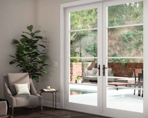 French doors for Okanagan homeowners by Adera Windows & Doors