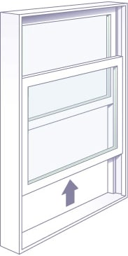 Adera offers single hung window to Vernon, Kelowna, and Okanagan homeowners, builders, and strata