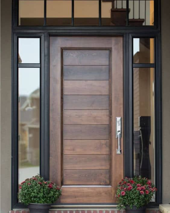 Add flair to your Kelowna or Vernon home with a solid wood door