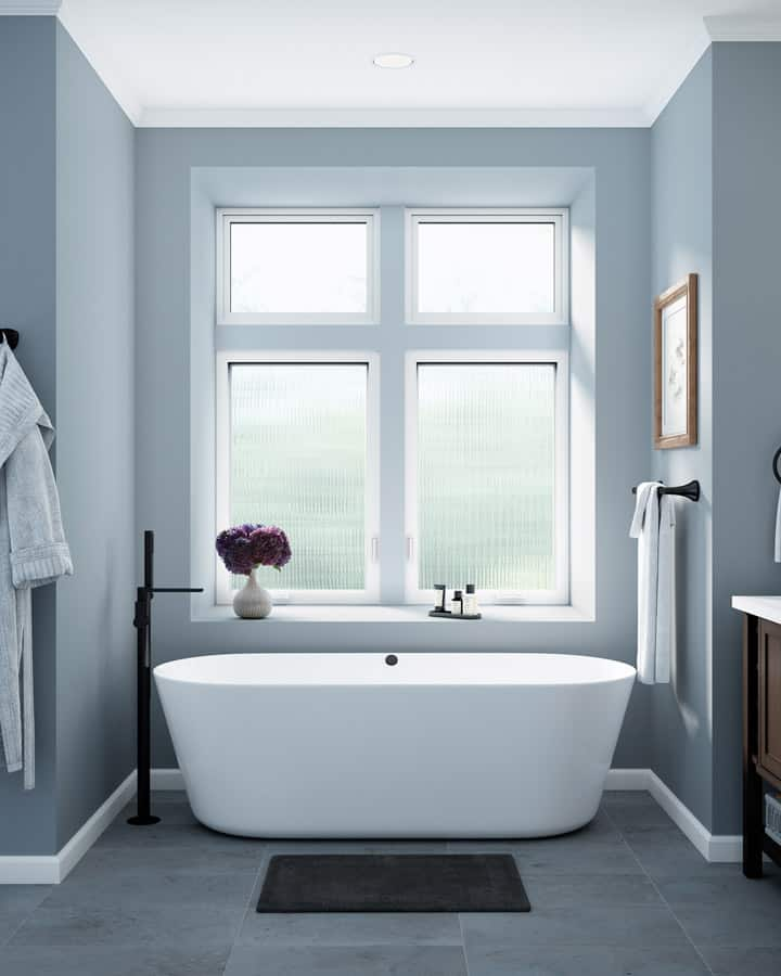 Update the windows in your strata's bathroom