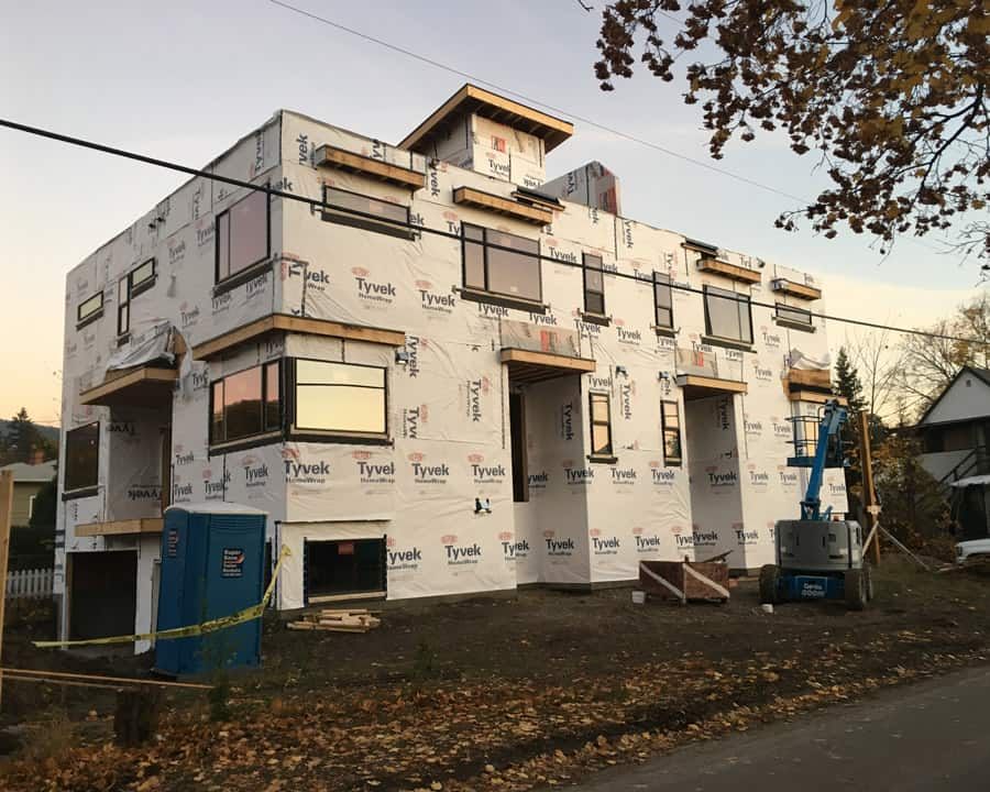 Multi-family window and door project in Vernon