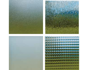Decorative glass for windows