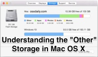 """Understanding the """"Other"""" Storage space in Mac OS X – OSXDaily"""