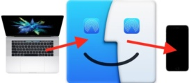 Airdrop from Mac to iPhone