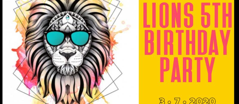 Lions Krav Maga 5th birthday party