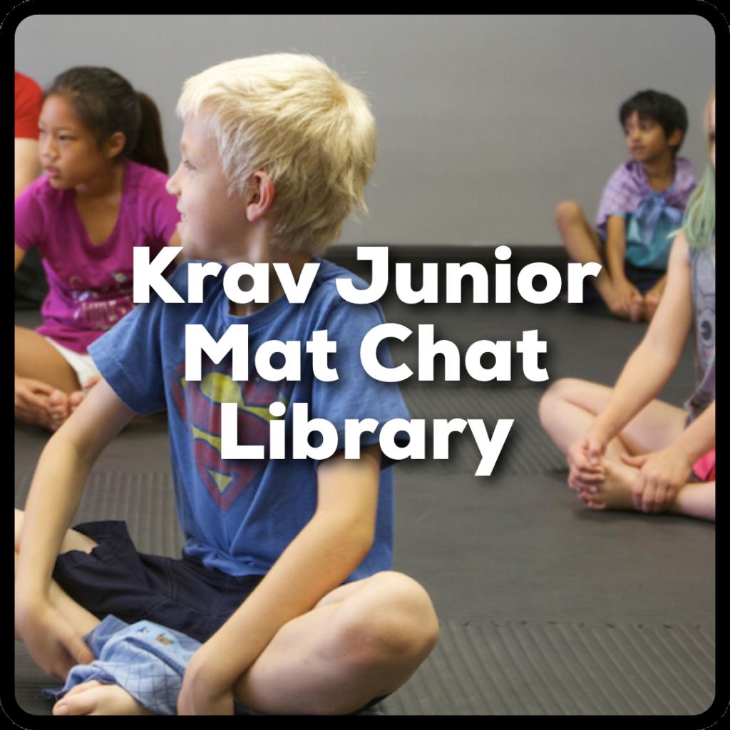 Lions Krav Maga Krav Junior Mat Chat Library