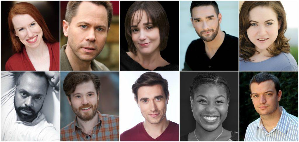 Cast of Perisphere Theater's Tartuffe