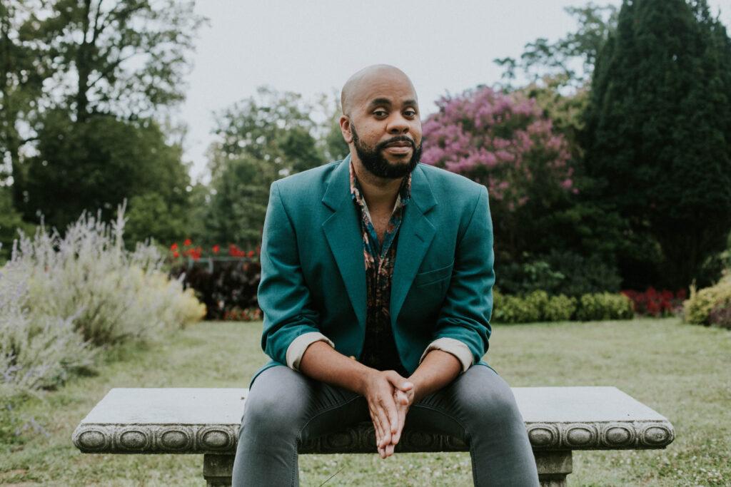 Playwright R. Eric Thomas; Photo credit: Katie Simbala