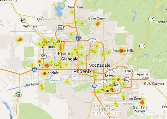 January 2015 Phoenix solar home sales