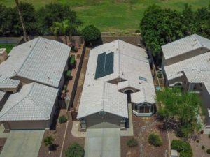 Phoenix solar home with solar lease