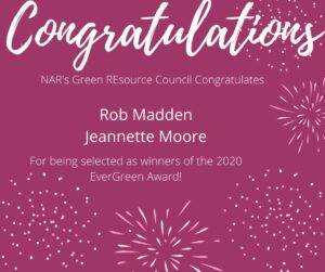 Rob Madden NAR Evergreen Award Recipient