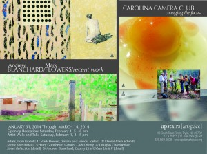 Recent Work By Mark Flowers @ Upstairs Artspace Tryon, NC