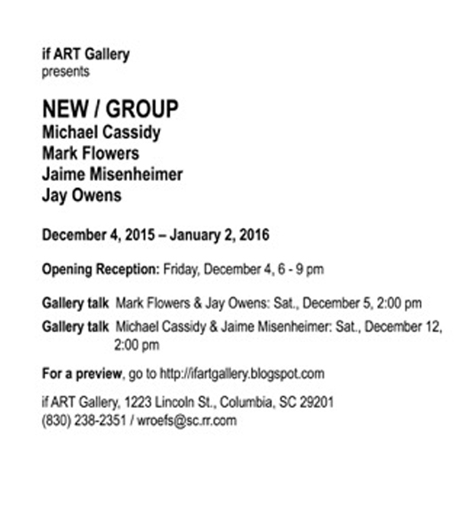 if ART Gallery Exhibits New/Group
