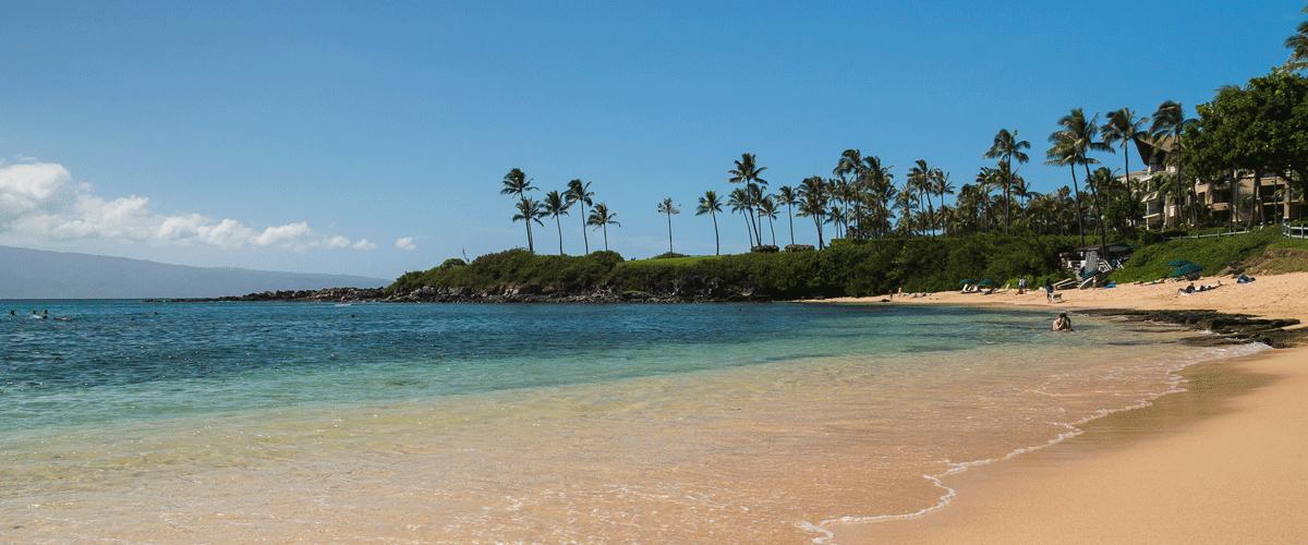 The Beach at Kapalua Bay