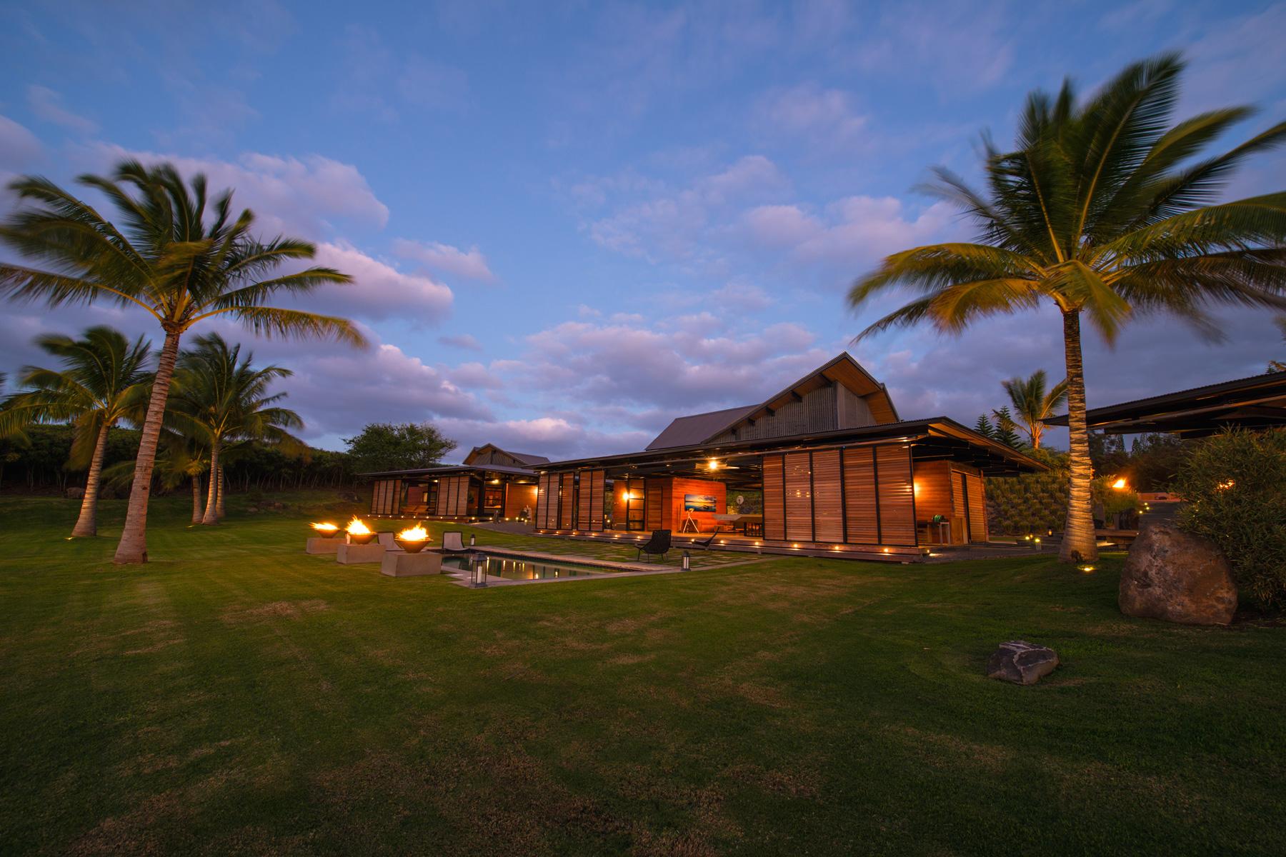 Honolua Bay Kapalua House for Sale Peter Lik Grounds