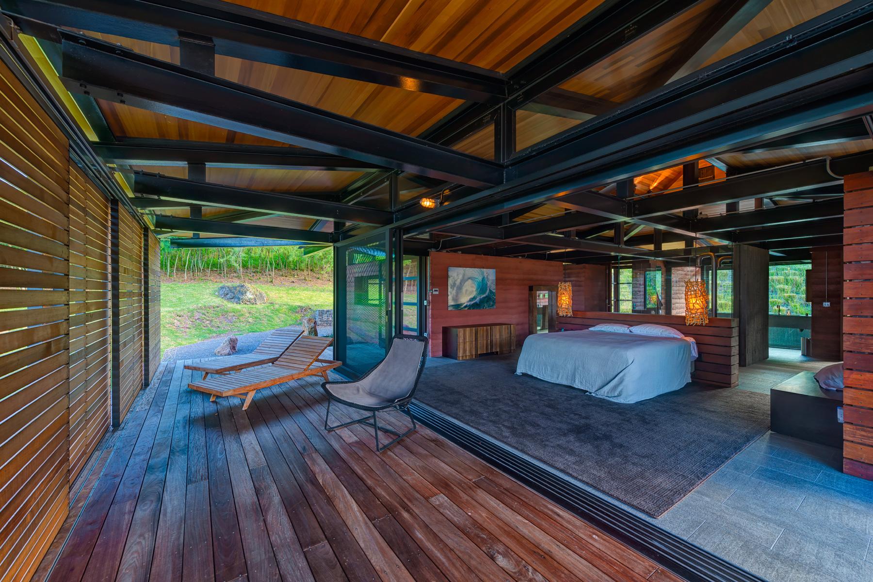 Honolua Bay Kapalua House for Sale Peter Lik Master Bedroom