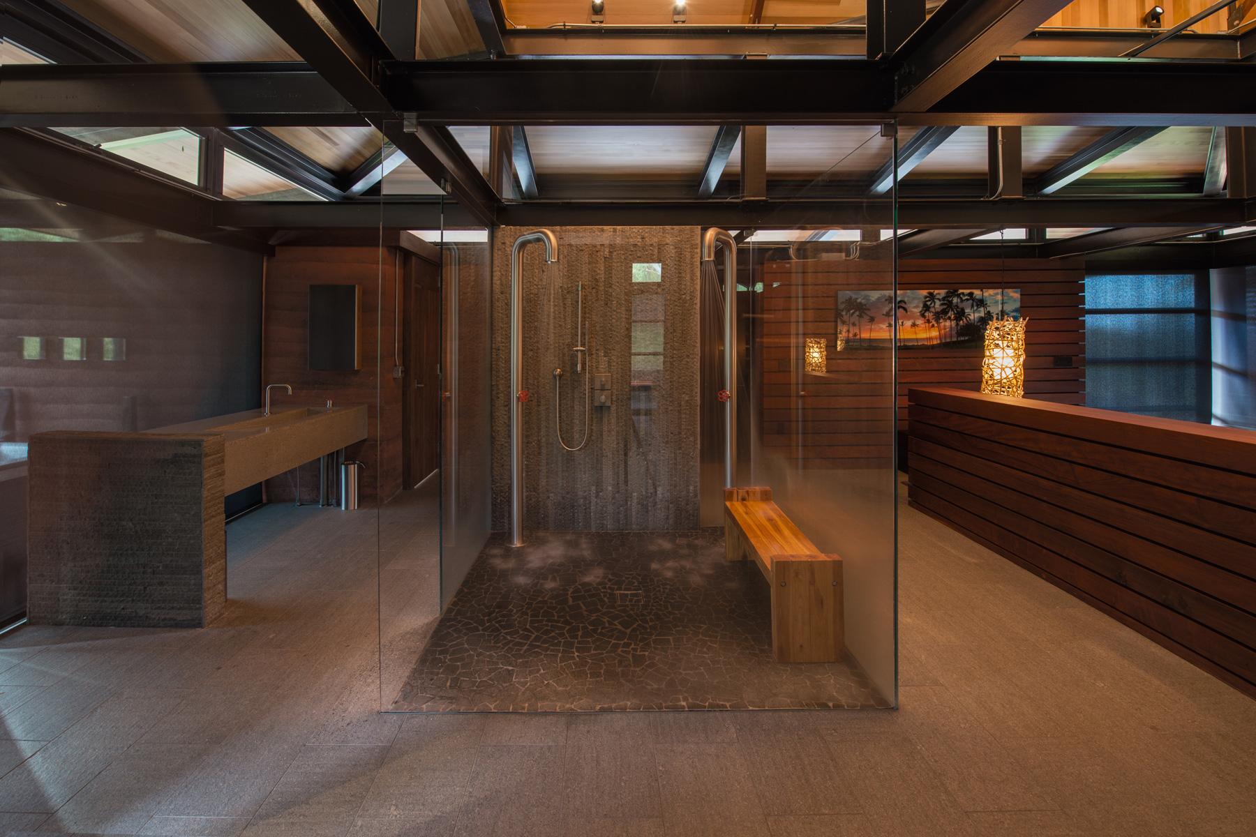 Honolua Bay Kapalua House for Sale Peter Lik Master Bath Suite