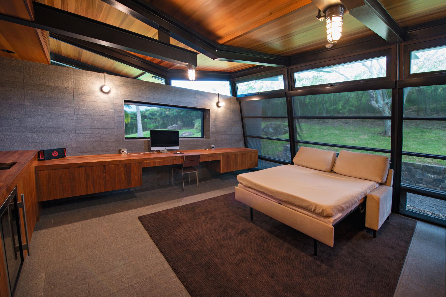 Honolua Bay Kapalua House for Sale Peter Lik Master Suite Den