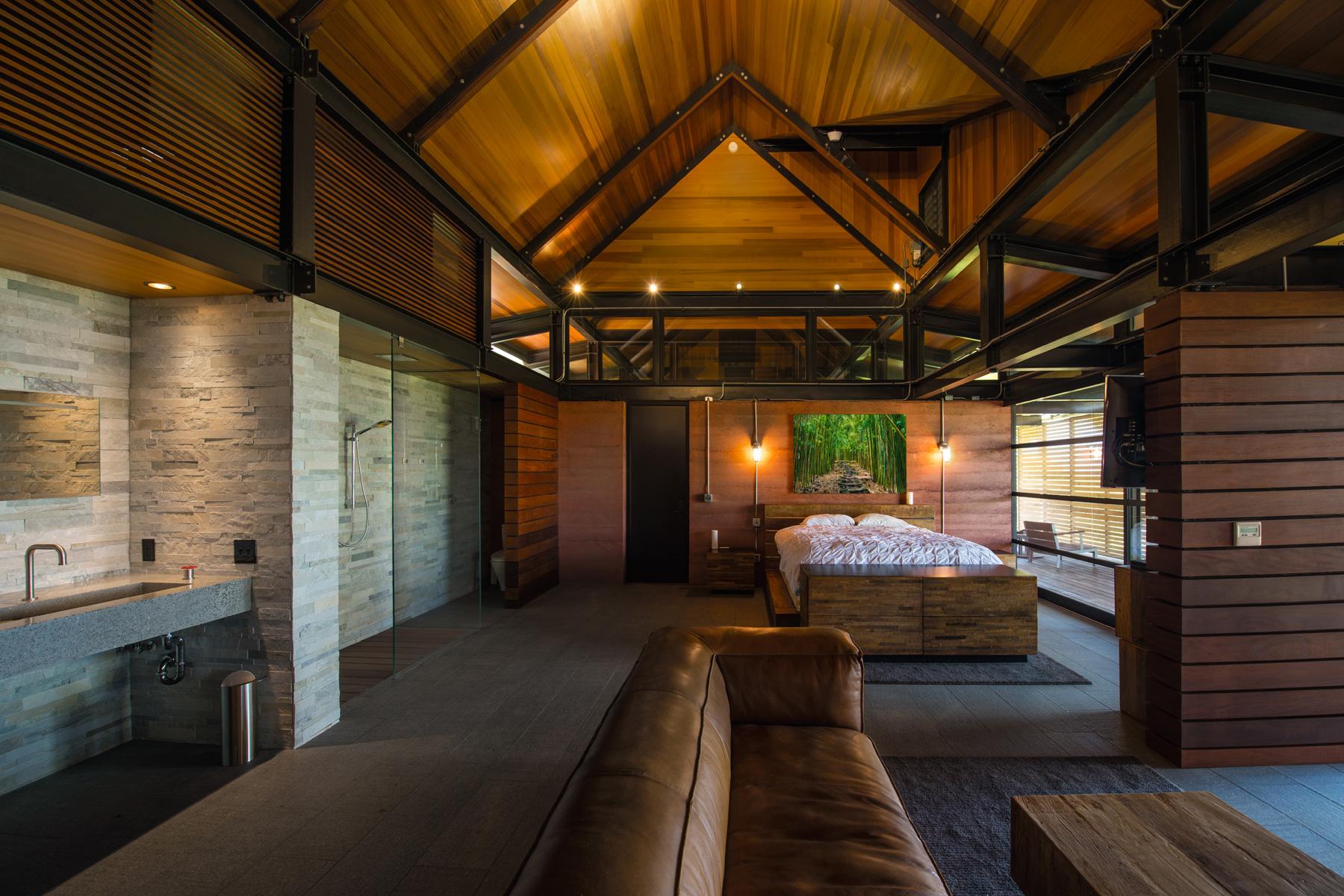 Honolua Bay Kapalua House for Sale Peter Lik Guest Suite