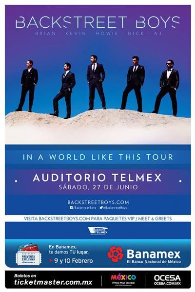 Backstreets boys en México 1